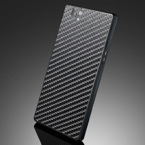 国内正規品SPIGEN SGP Sony Xperia Z SO-02E スキンガード [カーボン・ブラック] SGP10149