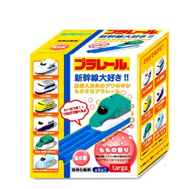 屋内警告それるプラレール炭酸入浴料 BOX