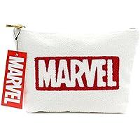 Marvel(マーベル) サガラポーチ/化粧ポーチ (ホワイト)