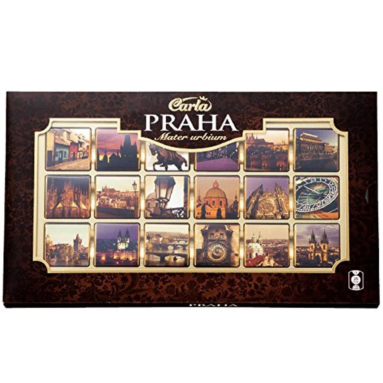 交差点プラスチック見落とすチェコ 土産 プラハ アソートチョコレート 1箱 (海外旅行 チェコ お土産)