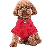 MIOIM ペット服 Tシャツ 小型猫子犬用 タンクトップ ドッグウェア 夏秋 パーカー パパラッジ衫 ポロシャツ アパレル 洋服 コスプレ
