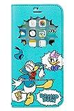 iPhone6s iPhone6 ケース 手帳型 ディズニー 窓付き キャラクター カバー カード収納/ドナルド