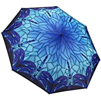 GALLERIA Umbrella Folding Stained Glass Dragonfly, 1 EA