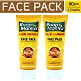 Roop Mantra Haldi Chandan Face Pack, 60g (Pack of 2)