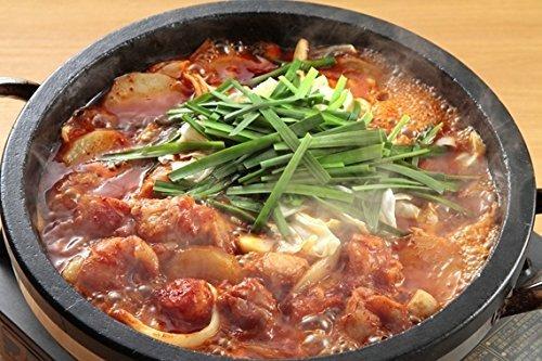 赤鍋 【タッカルビ】 2人前 (博多ちゃんぽん麺付)×2セット 四番館 ウマ辛い!本場韓国の味をそのまま。ヒルナンデスでも紹介されたあか鍋!