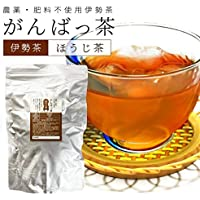 伊勢茶 ほうじ茶500g 農薬や肥料を使わずに自然の力を大切に育てたお茶