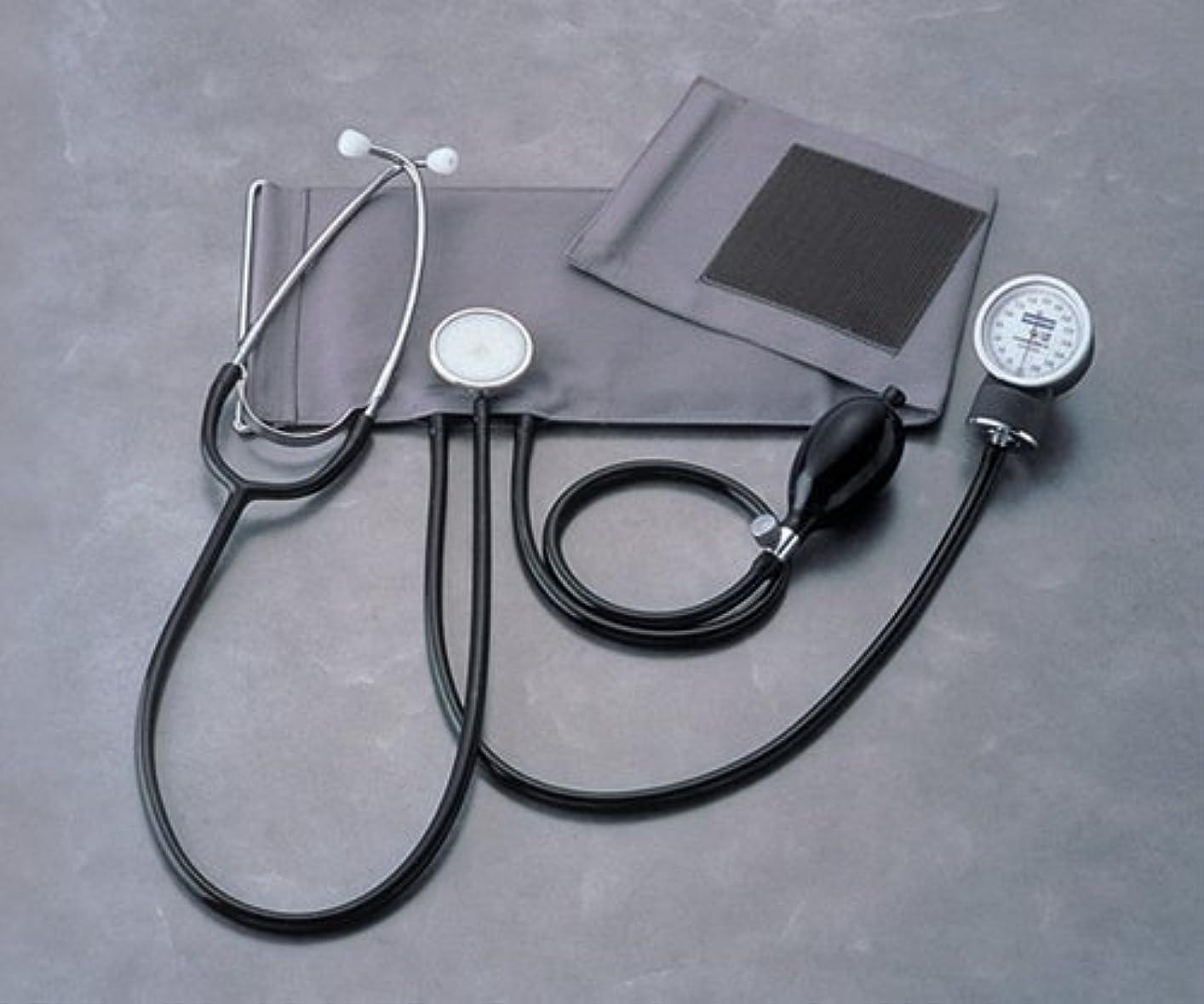操作可能開発するルネッサンス聴診器付アネロイド血圧計 No.501 本体セット /0-7012-01