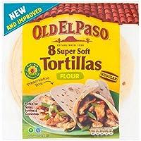 Old El Paso Flour 8 Tortillas 326g by Old El Paso