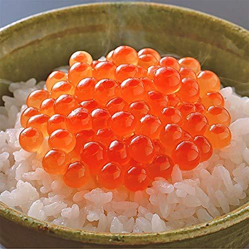 どんぶり用 天然 銀鮭いくら醤油漬け 北海道加工 (1kg)