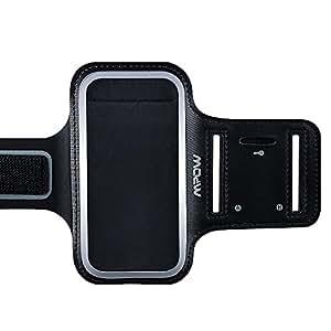 Mpow ランニングスポーツ防汗アームバンドケース+キー・ホルダー Iphone5/5s/6/6sなど5.2インチまでのスマホに対応 調節可能サイズ
