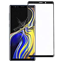 Spare parts for phone hyxフロントスクリーン、Galaxy Note9用外側ガラスレンズ(ブラック) (Color : Black)