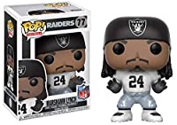 Raiders Funko Pop NFL Marshawn Lynch Colour Rush Vinyl Figure
