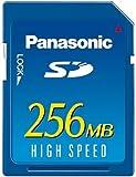 パナソニック SDメモリーカード 256MB RP-SD256BJ1A