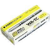 トンボ鉛筆 蛍光ペン 蛍コート WA-TC91-10P 黄色 10本