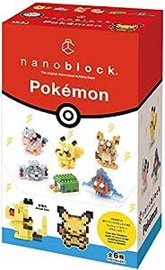 カワダ ナノブロック ミニナノ ポケットモンスター でんきタイプ NBMC_08S 1BOX = 6個入り、全6種類