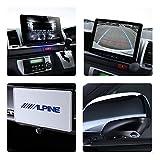 アルパイン(ALPINE) フローティングBIG X 11 3カメラセーフティパッケージ レジアスエース 200系 専用 カーナビ 11型 ビッグX バックモニター内蔵自動防眩インナーミラー対応 <2018年モデル> XF11Z-RE-SF3N-NR
