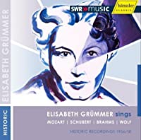 Elisabeth Grummer sings... (SWR Recordings) by Grummer/Diez/Stuttgart Kammerorchester (2009-09-08)