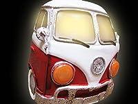 【アメリカン フットランプ ワーゲンバス/AZ12R】ナイトランプ LED照明 間接照明 ガレージ ビンテージ アメリカン雑貨 アメリカ雑貨 ビンテージ