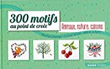 MANGO <300 motifs, Animaux, Nature, Saisons> クロスステッチ図案集-フランス語