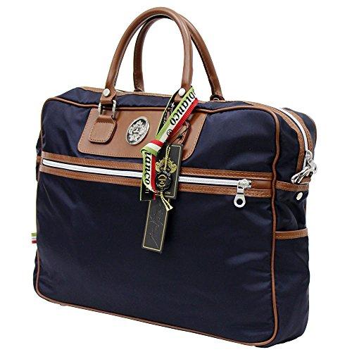 OROBIANCO/オロビアンコ FURETTO-D NY ビジネスバッグ/ブリーフケース/ショルダーバッグ/バッグ/カバン/鞄 ナイロン BLUE [並行輸入品]