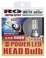 レーシング ギア ( RACING GEAR ) LEDヘッドバルブ プレミアム H9/H11兼用 5500K RGH-P724