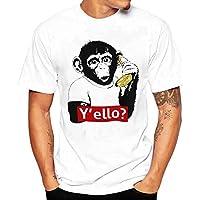 メンズ Tシャツ BOBOGOJP 男性 オシャレ 半袖 丸首 様々動物柄 トップス 春夏服 薄手 快適 上着 彼氏 プレゼント 誕生日用 父の日 吸水速乾 図案印刷 tシャツ