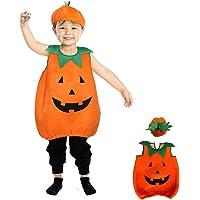 Toyhigend ハロウィン コスプレ 子供 かぼちゃ 着ぐるみ パンプキン 仮装 キッズ コスチューム ハロウィーン…