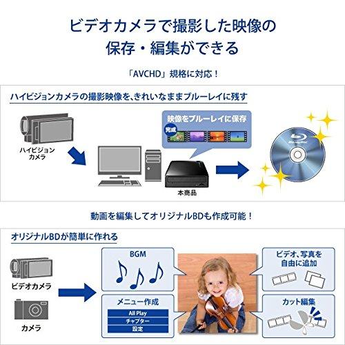 ブルーレイドライブ 外付型/USB 3.0/BDXL/M-DISC/16倍速高速書き込み BRD-UT16WX 9枚目のサムネイル