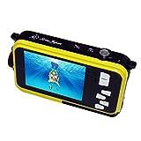 シリウス 防水デジタルカメラ イエロー 選べる4色 ASWC-Y1