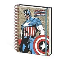 キャプテンアメリカレトロa5ノートブック