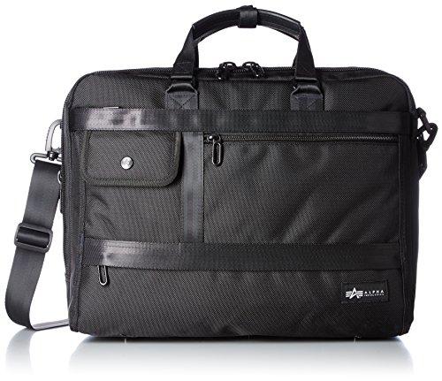 [アルファ インダストリーズ] ビジネスバッグ Colonel B5PC/タブレット対応 2ルーム横3wayスタイル 400090001 BK