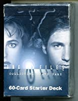 X -ファイル収集カードゲームCCG 60カードスターターデッキThe Truth Is Out There Fox Mulder