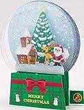 クリスマス ライト&メロディカード (スノードーム) 71869-6