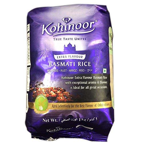 バスマティライス インド産 Kohinoor 3kg 【1kg×3袋】 Basmati Rice 長粒米 インディカ米 香り米 業務用