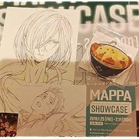 ユーリ!!! on ICE 特典 ポストカード ユリオ MAPPA ユーリオンアイス パルコ ユーリ MAPPA SHOW CASE カツ丼 キーホルダー