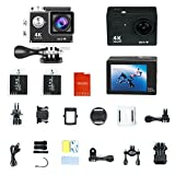 YUNTAB(JP) Sports Action Camera Mini DV H.264 1080P FHD Wifi HDアクションカメラ 2.0インチ液晶モニタ 高画質 多機能スポーツカメラ マリンスポーツ ウインタースポーツ対応 バイクや自転車、カートや車に取り付け可能なスポーツカメラ HD動画対応 コンパクトカメラ W9 sports DV Gopro-Style User Interface(ブラック)