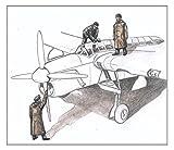 CMKレジン 1/72 イギリス軍 バラクーダ整備兵3体 レジンキット CMF72330