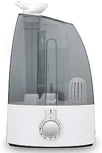ottostyle.jp 超音波加湿器 uruoi+(うるおいプラス) クリア 【大容量4L/連続加湿最大(約)8時間】噴出角度360度 2つのノズル搭載 加湿機 卓上