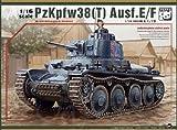 パンダホビー 1/16 ドイツ 38 t 戦車 E/F型 プラモデル