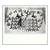 MCエッシャー 魔法の鏡(マジックミラー) アートポスター
