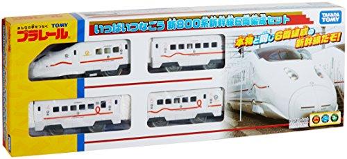プラレール いっぱいつなごう800系新幹線6両編成セット