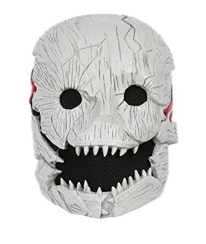 Xcoser DeadデイライトマスクデラックスハーフヘルメットHead Trapper大人用コスプレ小道具
