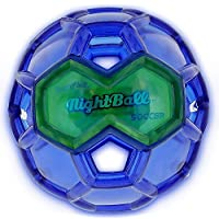 Tangle Sport Matrix Airless NightBall Soccer Ball - Ultra Durable No Pump Floats in Water Light Up Soccer Ball - 6.5L 【You&Me】 [並行輸入品]