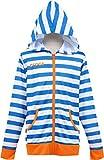 (クロックス)Crocsガールズ長袖UVカットウェア【126-862】150cmブルー×オレンジ