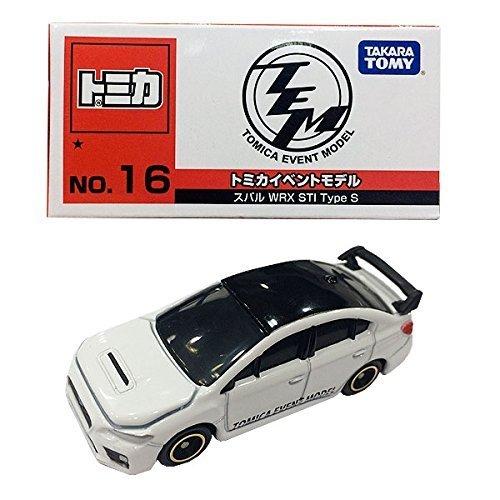 ▽トミカ イベントモデル 2016年 (No.16)スバル WRX STI Type S TOMY トミカ博(タカラトミー)