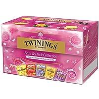 TWININGS (Infusion Fruit & Herb Colletion) 輸液フルーツ&ハーブコレクション - 25×4=100個 - 並行輸入品