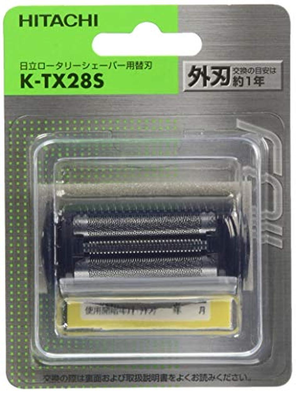 枠通知する動物日立 替刃 外刃 K-TX28S