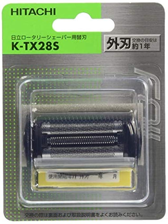 君主兄弟愛リテラシー日立 替刃 外刃 K-TX28S