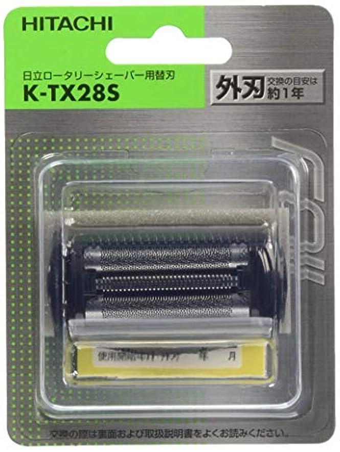 無秩序コーンウォールシンジケート日立 替刃 外刃 K-TX28S