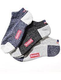 ジョーカーセレクト(JOKER Select) Healthknit ヘルスニット 靴下 メンズ ソックス パイル 杢 霜降り 星条旗 紳士靴下